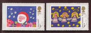 GREAT BRITAIN 2013 CHRISTMAS CHILDRENS DESIGNS FINE USED
