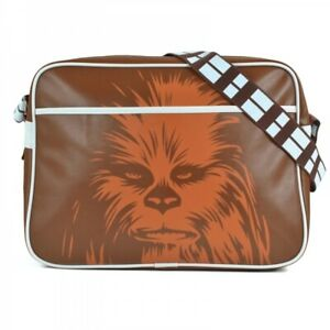 Details About Official Star Wars Chewbacca Retro Shoulder Messenger School Bag