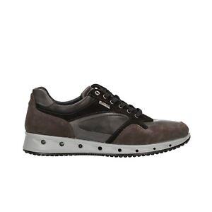 Caricamento dell immagine in corso IGI-amp-CO-Sneakers-scarpe-uomo -grigio-GORE- dfd8bf64c7d