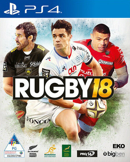PS4 Rugby 18 (brand new)