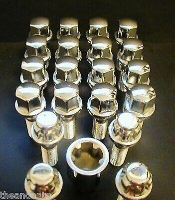 MERCEDES BUNDT WHEELS LOCKING LUGS LUG BOLTS LOCKS W123 300CD