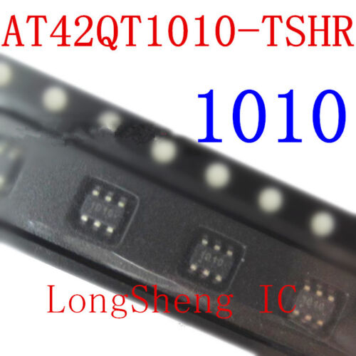 5PCS AT42QT1010-tshr IC Sensor Táctil 1KEY SOT23-6 42QT1010 AT42QT1010 Nuevo