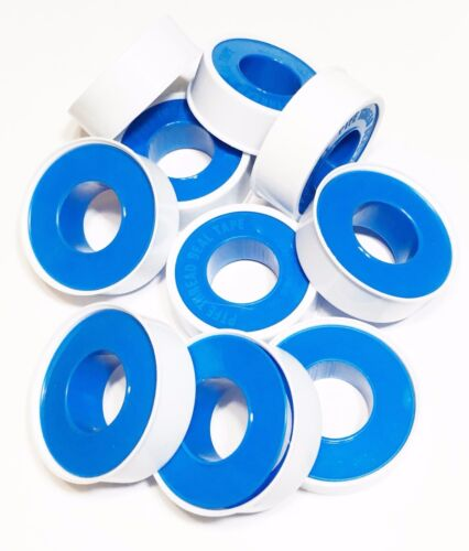 "10 PK 1//2/"" X 260/"" ProPlus Plumber/'s PTFE White Thread Seal Teflon Pipe Tape"