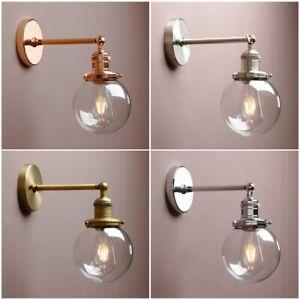 Bathroom Wall Lamp Sconce Globe Gl