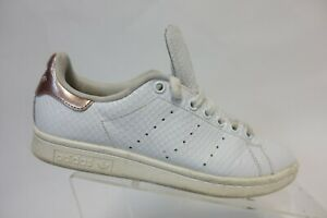 repentinamente Oportuno itálico  ADIDAS Stan Smith White/Rose Gold Sz 7.5 Women Running Shoes | eBay