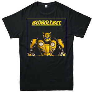 Transformers-Bumblebee-Movie-T-shirt-science-fiction-Adultes-amp-Enfants-Tee-Top