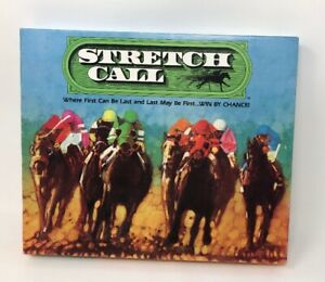 Stretch-Call-Horse-Racing-Board-Game-1986-VINTAGE-RARE