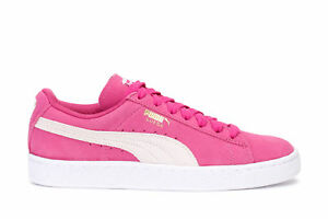 Details about Puma Women's Sneakers Suede Classic Fuchia Purple White 355462 38