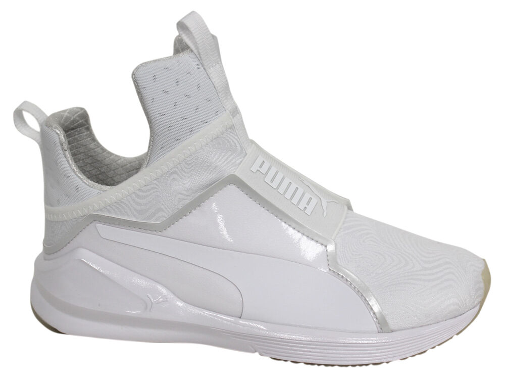 Puma féroce bright formation en danse chaussures femme à enfiler baskets blanc 189738 03