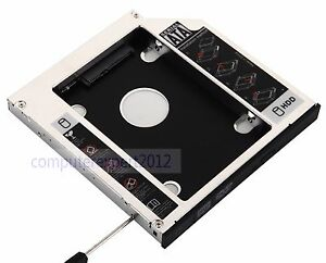 Details about for clevo P170EM P150EM DS8A8SH DS8A5S DVD 2nd Hard Drive HDD  SSD Caddy Adapter