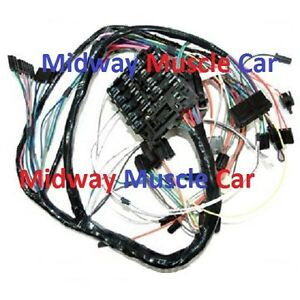 details about dash wiring harness 69 oldsmobile cutlass hurst olds 4 4 2 f85 Truck Wiring Harness