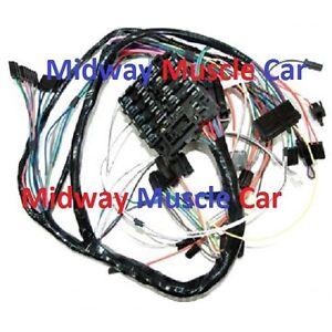 dash wiring harness 71 oldsmobile cutlass hurst olds 4 4 2 f85 ebay