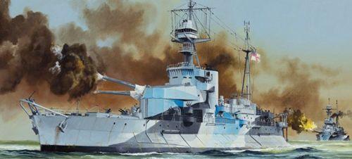 Trumpeter 1 350 HMS Roberts Monitor Class