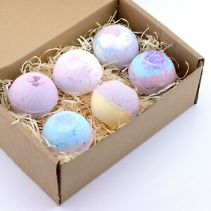 Bath-Bomb-Gift-Set-Natural-Ingredients-By-Ferreira-Cosmetics-Luxury-Bath-Sets