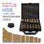 thumbnail 1 - Cobalt Drill Bit Set High Speed Steel HSS Twist Bits 99 Pieces With Case Bargain