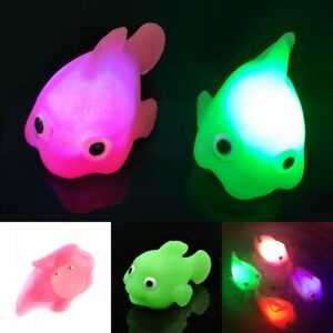 Bathroom LED Light Kids Toys Water Induction Waterproof In Tub Bath Time