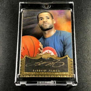 LEBRON-JAMES-2015-UPPER-DECK-LJ-MASTERFUL-PAINTINGS-AUTOGRAPH-AUTO-1-1-1of1