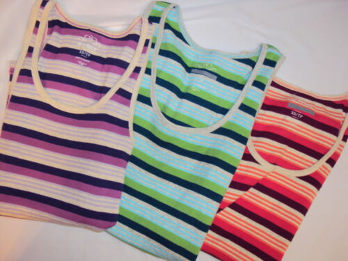s Old Navy Striped Ribbed Scoop Neck Tank Top size xs m  NEW