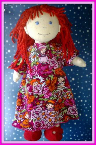 Kleidung & Accessoires Puppen & Zubehör Kleidung Nachthemd bunt für Puppe 38 cm Lotta,Souri,Amelie Neu