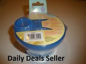 POWDERED FORMULA & SNACK DISPENSER - Merri Tots BPA Free BLUE - NIP