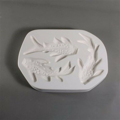 Koi Frit Casting Mold LF 146 Fusing and Slumping Glass Supplies