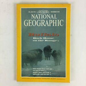 November-1994-National-Geographic-Magazine-Buffalo-Back-Home-on-the-Range