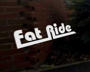 FAT-RIDE-car-vinyl-decal-vehicle-bike-graphic-bumper-sticker