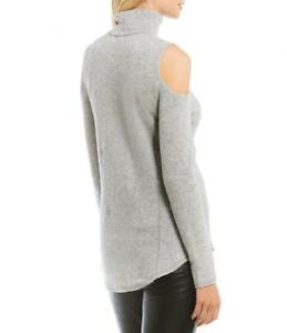 Antonio-Melani-039-Sherry-039-Cold-Shoulder-100-Cashmere-Sweater-NWT-Size-Extra-Small