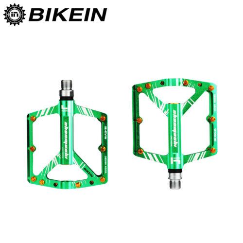 "BEST 9//16/"" Cycling Bicycle Mountain Bike Platform Pedals 4 Bearing CNC Aluminum"