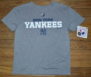 Youth Performance Tee New York Yankees T-Shirt Genuine Major League ... fb68272325a
