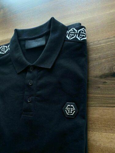 Philipp Plein New Season Iconic Cult Tape Polo-Shirt Polohemd Hemd T-Shirt L