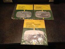 Lot 3 Vintage John Deere Manuals F245H F925AH F935H/F945H Plow Harrow Moldboard