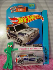 2015 Hot Wheels '67 AUSTIN MINI VAN #27∞Walmart j ZAMAC 7∞Union Jack∞Art Cars