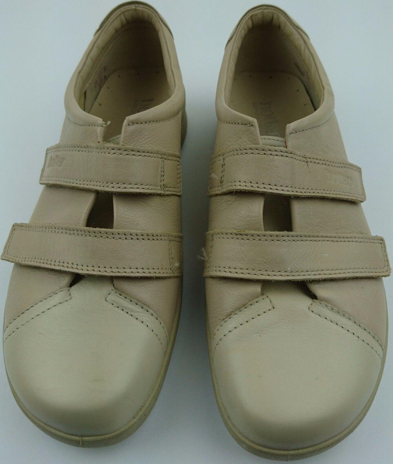 Hotter Comfort Concept LEAP Women US 8.5 Tan Leather shoes Size EU 40 UK 6.5