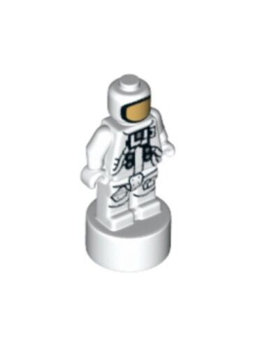 NEW * RARE LEGO ASTRONAUT MICROFIGURE ~ Space Trophy USA NASA Apollo Shuttle