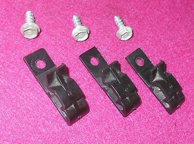 Convertible Fastback WIRING 1964 1965 Coupe Mustang CLIPS 5 CONSOLE GT ORIG 1966 Iw160w