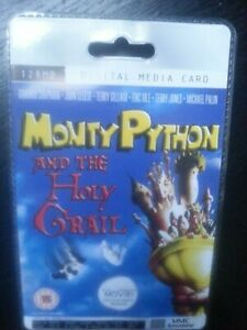 Monty Python  Rare Collectors Sealed MMC 128MB Digital Media Card  Movie