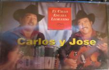 CARLOS Y JOSE - EL CIELO ESTABA LLORANDO - Cassette - NEW! Sealed! FONOVISA 1995