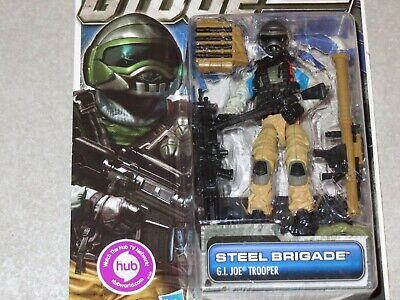 Joe Steel Brigade Trooper Action Figure 30TH Anniversary. G.I