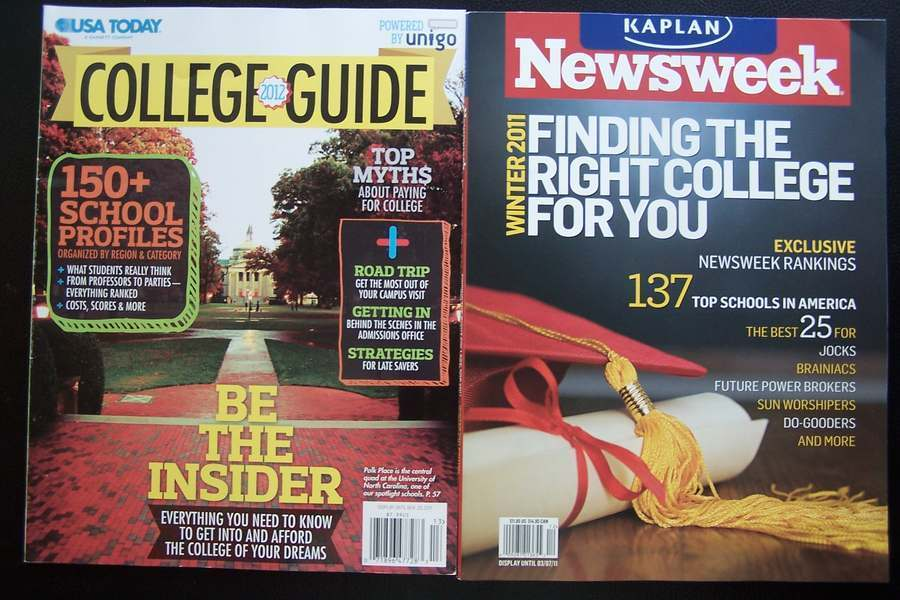 Best Colleges & Careers Educational Magazine Lot - Rese