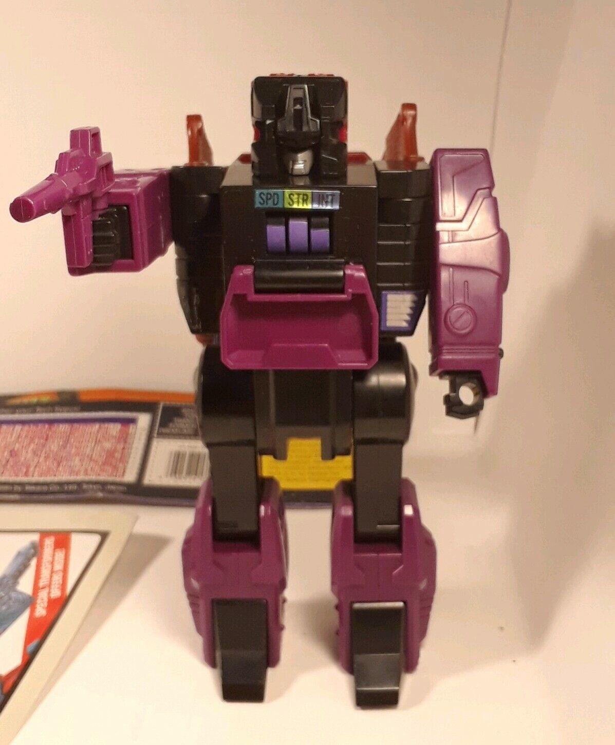 Mindwipe Headmaster  100% COMPLET 1987 Vintage Hasbro G1 Transformers  magasin pas cher