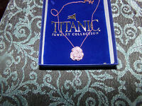 Titanic Jewelry Collection Dorothy's Rose Pin + Necklace