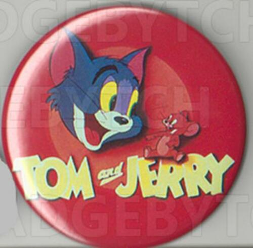 NEW ! 25mm and 56mm size! TOM and JERRY Badge Button Pin