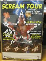 Vintage The Scream Tour Magic Jonhson Prod. Poster Original 2003 Rap Nice 10384