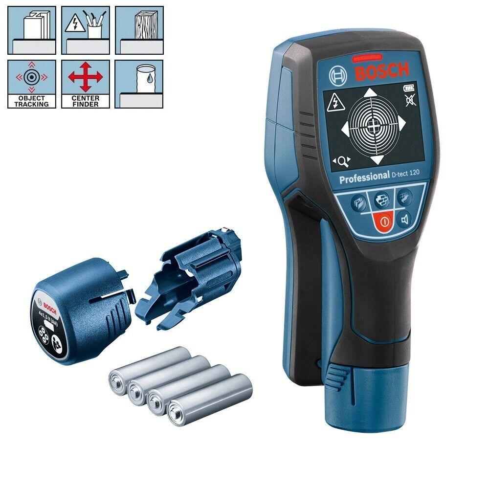 BOSCH Wallscanner D-Tect 120 Leitungssucher Ortungsgerät Metallsucher