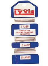 Fusewire Cable 5amp 15amp 30amp Assorted Fuse Wire- for Fusebox- Lyvia