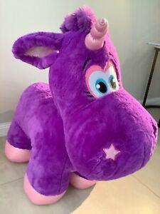 Large-purple-unicorn-toy-from-Sydney-Luna-Park-New-hard-to-get