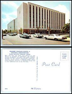 INDIANA-Postcard-Lafayette-Purdue-Univ-Krannert-Graduate-School-Industrial-F20