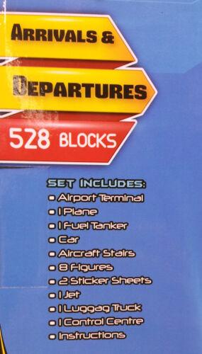 528 Blocs-BRIQUE par Brique Airport Sky Terminal