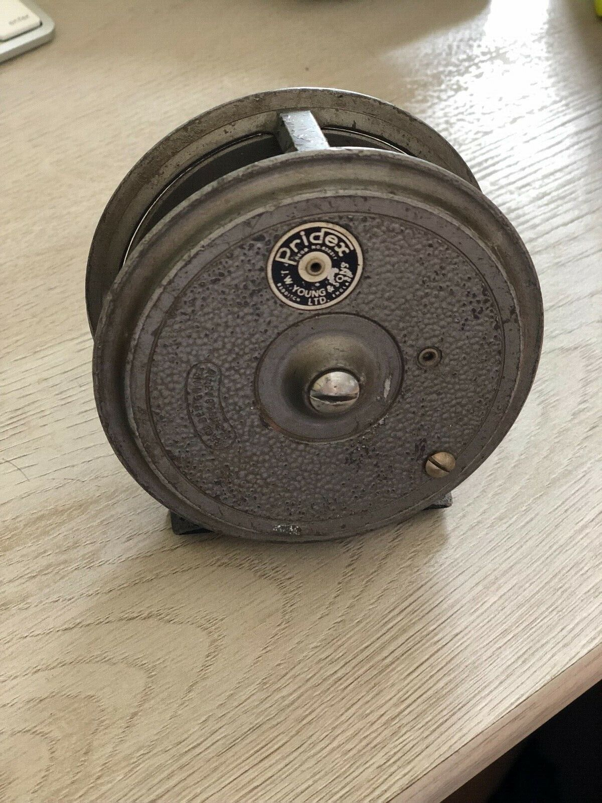 Pridex 1950s Reel J.W. Young and Sons-opa's Old Reel
